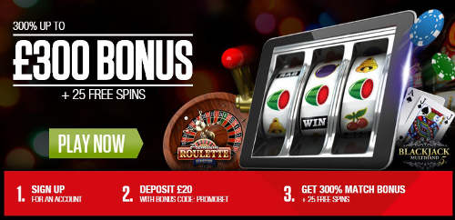casino on net promotion code