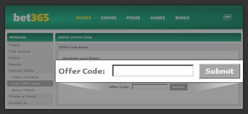 bet365-offer-code